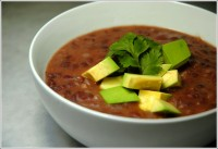 Recipe: Black Bean Soup