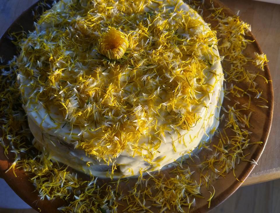 Dandelion Cake