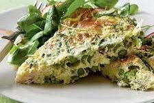 Recipe: Asparagus-Broccoli Crustless Quiche