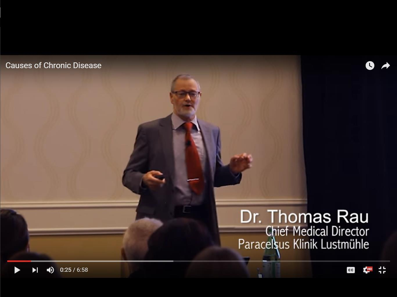 Chronic Disease Dr. Thomas Rau