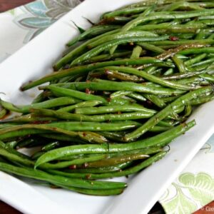 Recipe: Green Beans With Thai-Style Sesame Sauce
