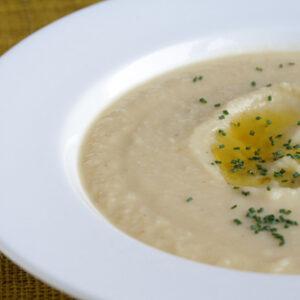 Recipe: Cauliflower-Celery Root Bisque