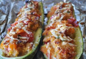 baked-stuffed-vegetarian-zucchini