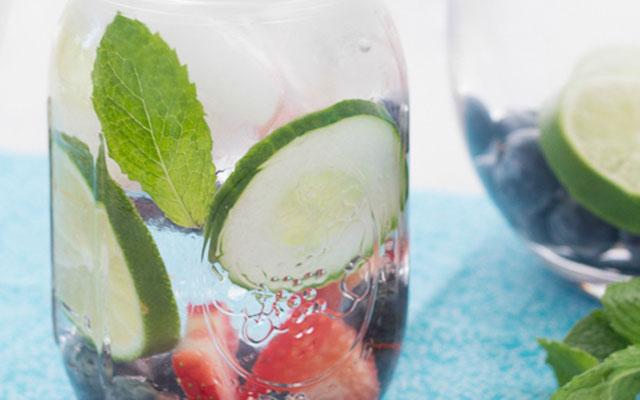 cucumberwaterstrawberry
