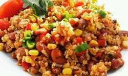 Southwestern Black Bean And Corn Quinoa