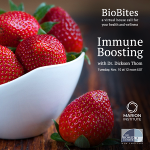 BioBlog: Biomed Educational Events Resume In November With A Focus On Immune-Boosting